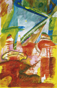 RUBEN GALLARDO ARTISTA DE MEXICO EN BERLIN (GALERIA TANTOW)