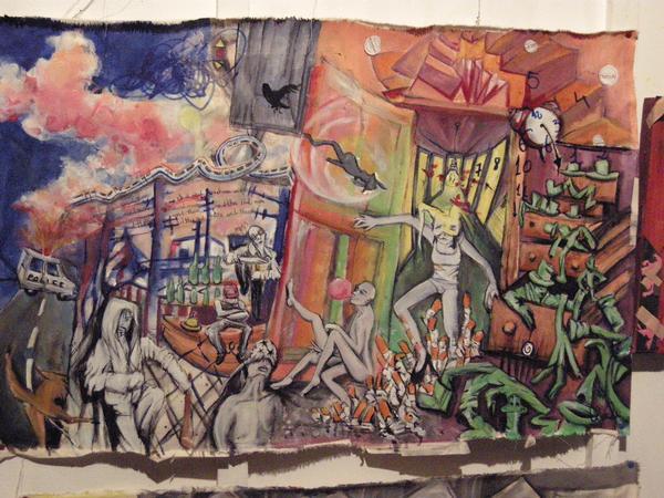 Marla Dango tacheles LunaSol Galeria Berlin