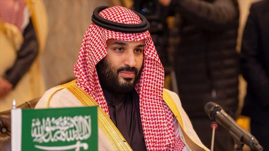 El príncipe heredero de Arabia Saudí, Muhamad bin Salman Al Saud.